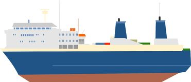 σκάφος διανυσματική απεικόνιση