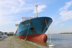 Σκάφος Conainer Στοκ εικόνα με δικαίωμα ελεύθερης χρήσης