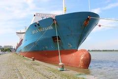 Σκάφος Conainer Στοκ φωτογραφία με δικαίωμα ελεύθερης χρήσης