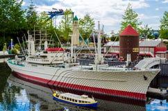 σκάφος lego Στοκ Φωτογραφίες