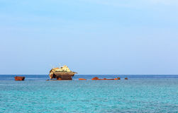 Σκάφος Loullia Στοκ φωτογραφία με δικαίωμα ελεύθερης χρήσης