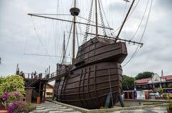 Σκάφος, Malacca θαλάσσιο μουσείο, Melaka, Μαλαισία Στοκ Φωτογραφία