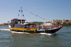 σκάφος rabelo Στοκ φωτογραφία με δικαίωμα ελεύθερης χρήσης