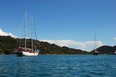 Σκάφος Uchagiz, Lycia στοκ εικόνες