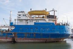 Σκάφος Volgoneft 128 τροφών Στοκ Εικόνα