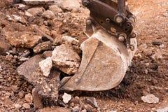 Σκάψιμο κουκκιστηριών Στοκ εικόνα με δικαίωμα ελεύθερης χρήσης