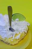 σκάψτε την πίτα ασβέστη Στοκ Εικόνες