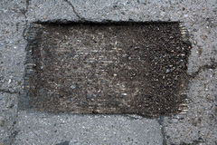 σκάψτε την τρύπα Στοκ φωτογραφία με δικαίωμα ελεύθερης χρήσης