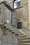 Σκάλα ενός ιστορικού κτηρίου, Βιτέρμπο Στοκ εικόνες με δικαίωμα ελεύθερης χρήσης