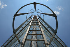 Σκάλα εξόδων κινδύνου σε ένα κτήριο Στοκ φωτογραφία με δικαίωμα ελεύθερης χρήσης