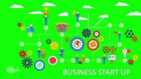 Σκάλα επιχειρηματικού πνεύματος και σταδιοδρομίας διανυσματική απεικόνιση