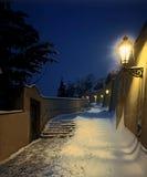 σκάλα κάστρων Στοκ Εικόνες