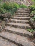 Σκάλα κήπων Στοκ φωτογραφία με δικαίωμα ελεύθερης χρήσης