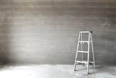 Σκάλα και τοίχος Στοκ εικόνα με δικαίωμα ελεύθερης χρήσης