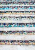 Σκάλα κεραμικών κεραμιδιών στοκ φωτογραφία με δικαίωμα ελεύθερης χρήσης