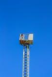 Σκάλα μιας μηχανής πυρκαγιάς Στοκ εικόνες με δικαίωμα ελεύθερης χρήσης