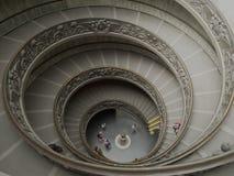 Σκάλα μουσείων Βατικάνου στοκ φωτογραφία με δικαίωμα ελεύθερης χρήσης