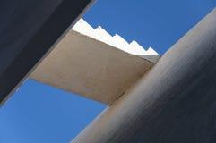 σκάλα μπλε ουρανού Στοκ εικόνα με δικαίωμα ελεύθερης χρήσης