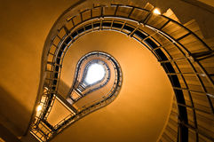 Σκάλα -σκάλα-lightbulb Στοκ Εικόνες