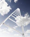 Σκάλα στον ουρανό στοκ φωτογραφίες