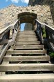 Σκάλα στο κάστρο Στοκ φωτογραφίες με δικαίωμα ελεύθερης χρήσης