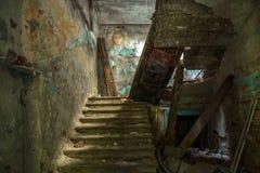 Σκάλα στο παρελθόν Στοκ Εικόνα