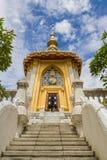 Σκάλα του ταϊλανδικού ναού Στοκ Φωτογραφίες