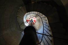 Σκάλα φάρων αποβαθρών Tynemouth Στοκ Εικόνες