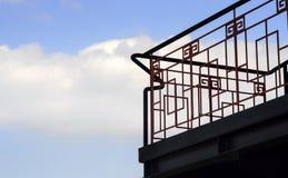 Σκάλα χάλυβα στοκ εικόνα με δικαίωμα ελεύθερης χρήσης
