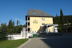 σκέλος ξενοδοχείων Στοκ φωτογραφία με δικαίωμα ελεύθερης χρήσης