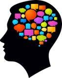 Σκέψεις και ιδέες διανυσματική απεικόνιση