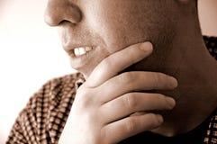 σκέψη ατόμων στοκ φωτογραφία με δικαίωμα ελεύθερης χρήσης