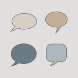 Σκέψη, λεκτική φυσαλίδα Σύννεφο ονείρου Μπαλόνι συζήτησης Κιβώτιο αποσπάσματος Στοκ φωτογραφίες με δικαίωμα ελεύθερης χρήσης