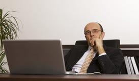 Σκέψη επιχειρηματιών στοκ φωτογραφίες