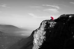 Σκέψη μπροστά από το λόφο στοκ φωτογραφία
