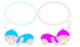 σκέψη μωρών στοκ φωτογραφία με δικαίωμα ελεύθερης χρήσης