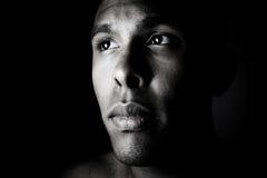 σκέψη πορτρέτου Στοκ φωτογραφίες με δικαίωμα ελεύθερης χρήσης