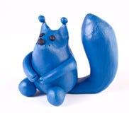 σκίουρος plasticine Στοκ εικόνες με δικαίωμα ελεύθερης χρήσης