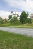 Σκίτσα και peyzazhi πόλεων. Στοκ Φωτογραφία