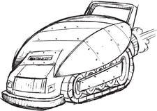 Σκίτσο οχημάτων θωρακισμένων αυτοκινήτων Στοκ φωτογραφία με δικαίωμα ελεύθερης χρήσης