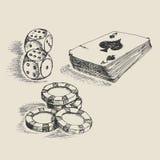Σκίτσο παιχνιδιού Στοκ εικόνες με δικαίωμα ελεύθερης χρήσης