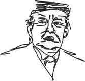 Σκίτσο του Ντόναλντ Τραμπ