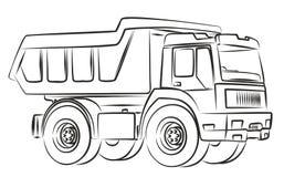 Σκίτσο φορτηγών Στοκ φωτογραφία με δικαίωμα ελεύθερης χρήσης