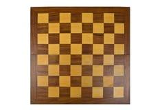 σκακιέρα ξύλινη Στοκ Εικόνες