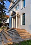 σκαλοπάτια εισόδων εκκ&la Στοκ Εικόνες