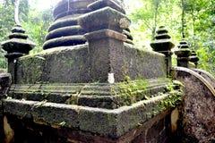 Σκαλοπάτια επάνω ο παλαιός ναός stupa νωρίς Στοκ εικόνα με δικαίωμα ελεύθερης χρήσης