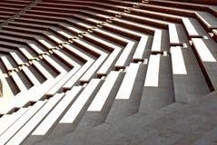 σκαλοπάτια ηλιόλουστα στοκ φωτογραφίες με δικαίωμα ελεύθερης χρήσης