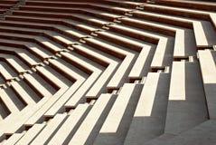 σκαλοπάτια ηλιόλουστα στοκ φωτογραφία με δικαίωμα ελεύθερης χρήσης