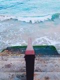 σκαλοπάτια θάλασσας Στοκ Εικόνες
