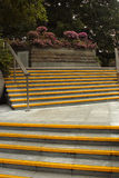 σκαλοπάτια κίτρινα Στοκ Εικόνα
